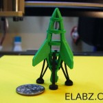 CNC files for Bumblebee – the miniature laser cut rocket