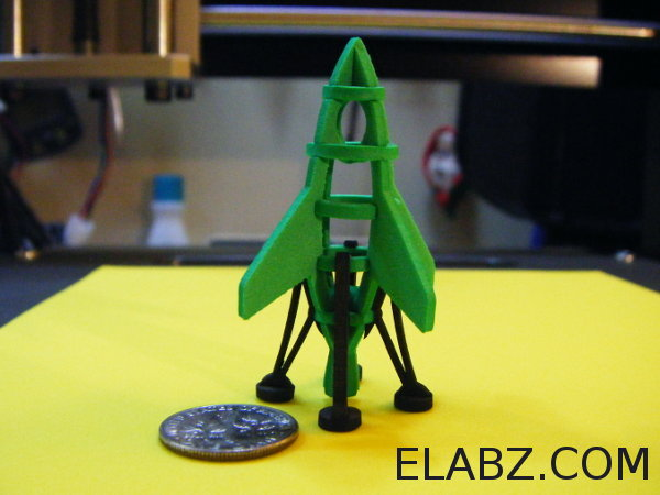 CNC Files for Bumblebee - the miniature laser cut rocket model