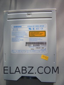 Samsung SCR3230E CD-ROM drive to be opened
