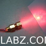 Laser Diode Housing from Hardware Store Parts