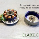 Upgrading a DVD spindle three phase BLDC motor