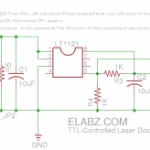 TTL-controlled Laser Diode Driver. Updated schematics.