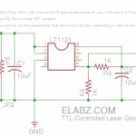 TTL-controlled Laser Diode Driver. Updated schematics.