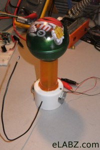 The $2 Van de Graaff generator is complete!